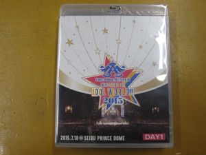 iba★中古★THE IDOLM@STER M@STERS OF IDOL WORLD!! 2015Live Blu-ray Day1&Day2 2組セ