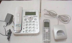 パナソニック 電話機 子機1台付 VE-GD51-S panasonic 子機 KX-FKD502-S