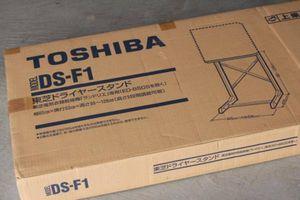 未使用 東芝 乾燥機 スタンド DS-F1 未使用品 ドライヤースタンド