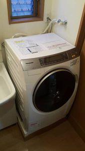 【中古美品】パナソニックドラム式洗濯乾燥機 NA-VX7200L 2013年製(左開きタイプ、長期