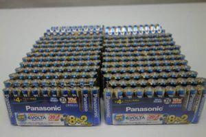 Panasonic パナソニック エボルタ 乾電池 LR03EJSP/10S 単4形10本×30パック 計300本