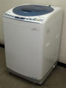 Panasonic★エコウォッシュシステム・送風乾燥★8kg洗濯機(7S90527)