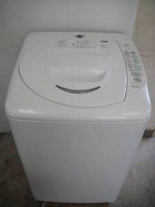 【動作良好】SANYO 全自動洗濯機 4.2Kg ASW-T42E #92270621