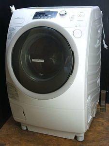 東芝/キレイが違う!高洗浄「節水ザブーン洗浄」/ヒーター式乾燥/洗濯9.0k乾燥6.0k/4699