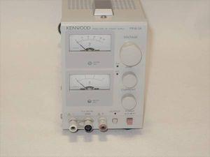 直流安定化電源 0~18V 0A~3A 出力 KENWOOD(現 TEXIO) PR18-