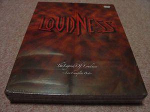 廃盤未開封4DVD●ラウドネス THE LEGEND OF LOUDNESS Live Complete Best ライブ コンプ