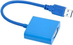 USB アダプターマルチディス 未使用 3 to 新品 VGA 変換