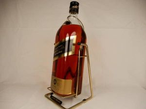 未開栓 特大ボトル Johnnie Walker ジョニーウォーカー BLACK ...