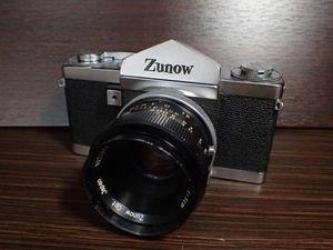 Zunow ズノー カメラ本体+レンズ Zunow 5cm 1.8 希少 珍品