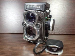 ローライフレックス ROLLEIFLEX 2.8FX プラナー Planar 8 ...