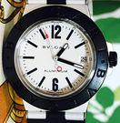 良品ブルガリアルミニウムメンズ時計自動巻AL38TA白文字盤稼働