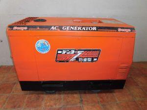 A641◎デンヨー ディーゼル 防音型エンジン発電機 BLG-10FSSY◎
