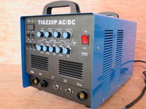 6ヶ月保証付 高性能 交流/直流(AC/DC) インバーター TIG220P 溶 ...