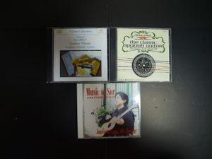 正統派クラッシックギターファンのためのCD3枚