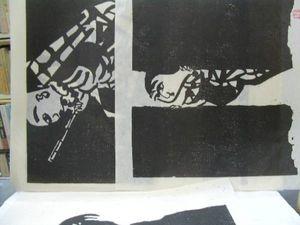棟方板画カレンダー 1977年・1979年