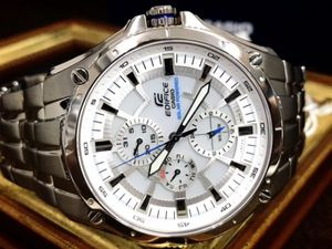 新品カシオ CASIO エディフィス EDIFICE正規品 腕時計 タフソーラー・マルチファンクショ