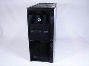 HP Z820 Workstation LJ452AV OSなし Xeon E5-2687W 3.1GHz x2 256GB(メモリ) 450GB x4