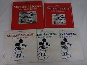 LD レーザーディスク WALT DISNEY ディズニー ミッキーマウス MICKEY MOUSE A STAR IS BO