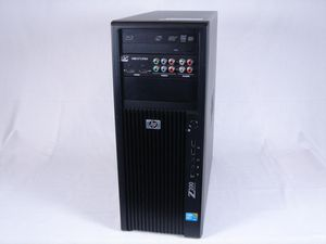 HP Z200 Workstation VA206AV OS無 Xeon X3450 2.66GHz 2GB 160GB 500GB x2 ブルーレイ C