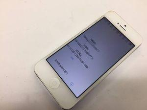 ♪au   iPhone5   GB数不明  ホワイト  A1429  ジャンク品♪45