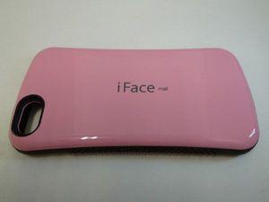 送料込 iPhone5 iFace TPUケース ピンク アイフォン5 カバー