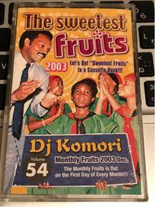CD付 DJ KOMORI THE SWEETEST FRUITS★KAORI MURO KIYO DADDYKAY