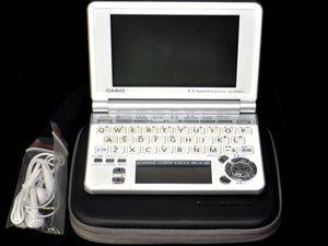ACB9-035■CASIO 電子辞書 XD-SP6600 EX-word カシオ 検索 音声 日本語 英語 ワード 中古