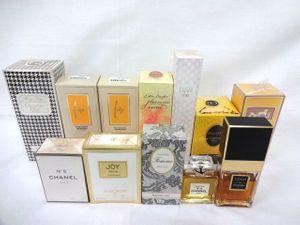 1円〜 香水 ディオール シャネルなど 色々 計12本 未開封多数